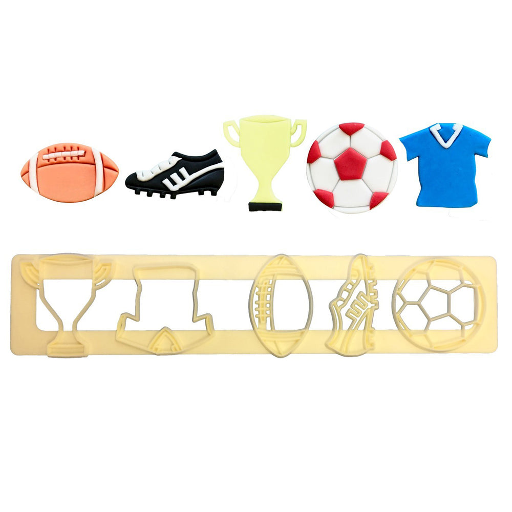 FMM Get Sporty Fondant Cutter - Create That Cake