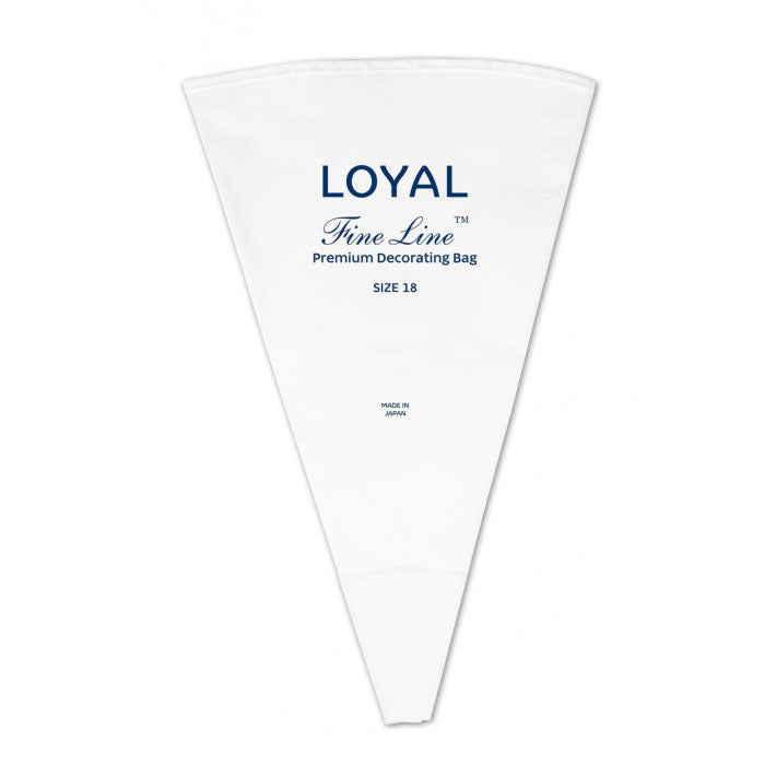 Loyal Fine Line Premium Piping Bag Size 18 - Create That Cake