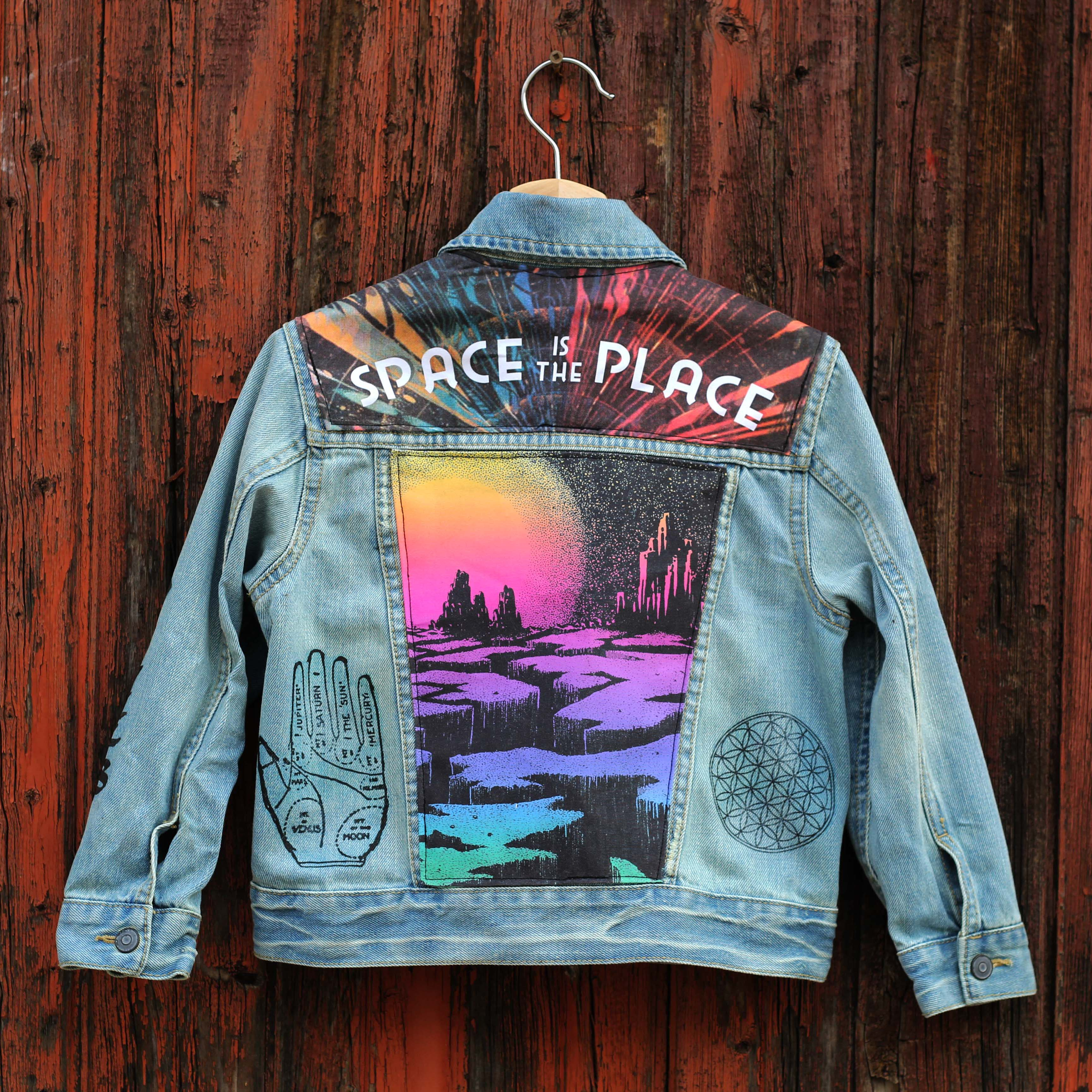 Space Is The Place Unisex Kids Denim Jacket