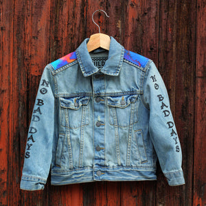 Surfs Up Unisex Kids Denim Jacket