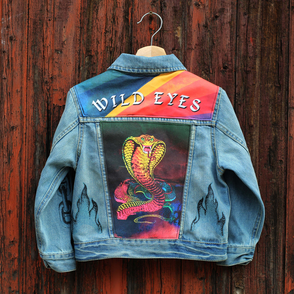 Illegal Moves Unisex Kids Denim Jacket