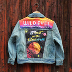 Trust In The Universe Unisex Kids Denim Jacket