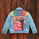 Freedom Unisex Kids Denim Jacket