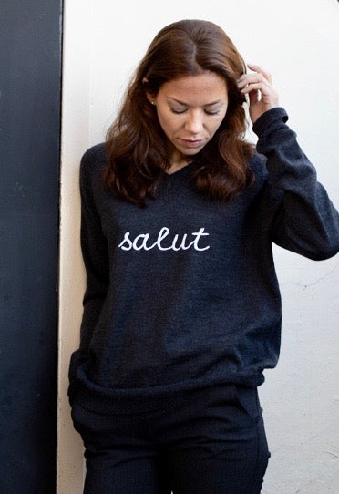 V neck jumper - Salut