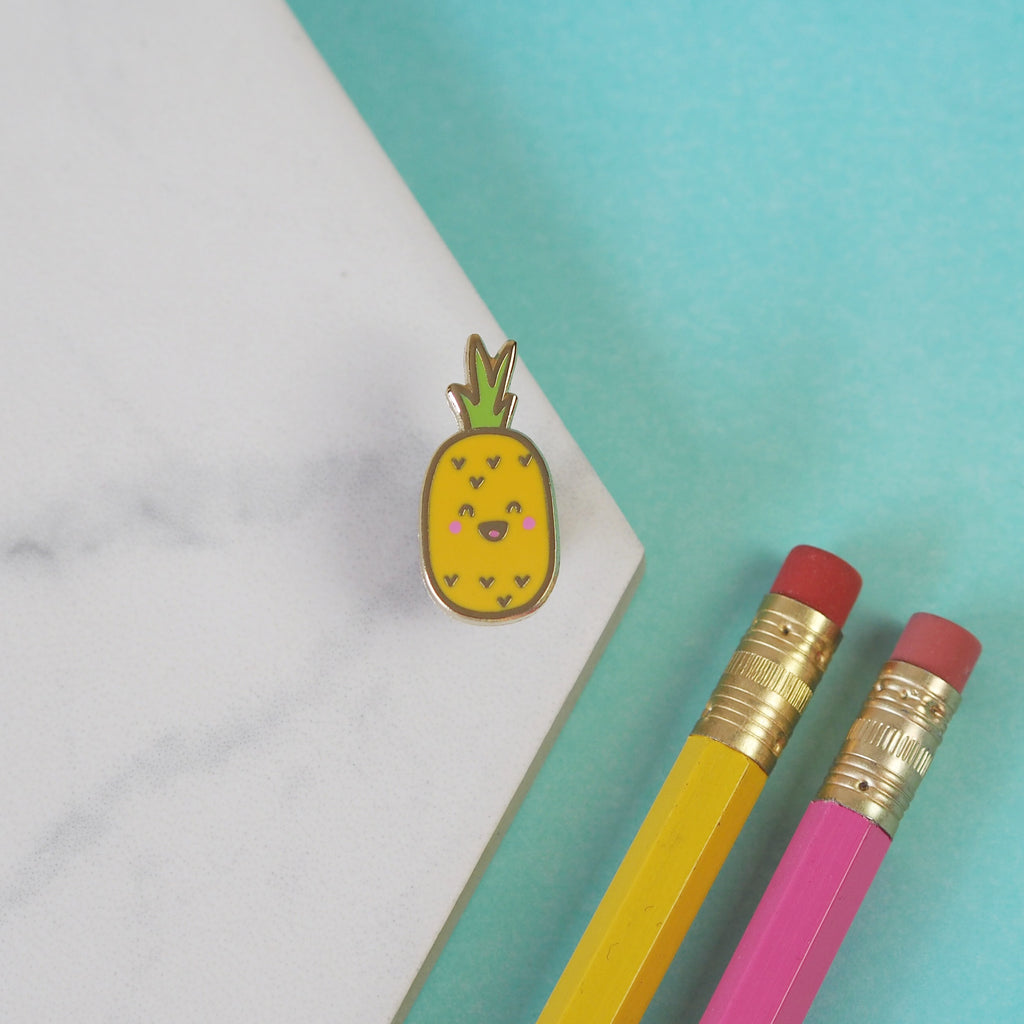 Pierre the Pineapple Pin - Nutmeg and Arlo