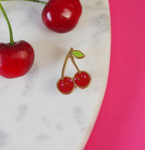 Clara the Cherry Pin