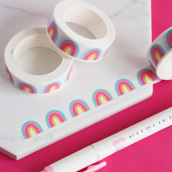 Candy Rainbows Washi Tape - Nutmeg and Arlo