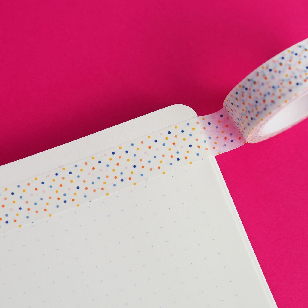 Confetti Washi Tape by Nutmeg and Arlo
