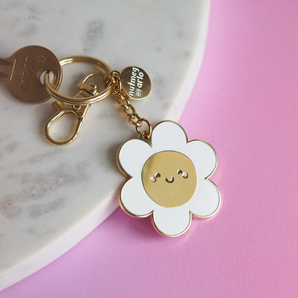 Darling Daisy Keychain - Nutmeg and Arlo