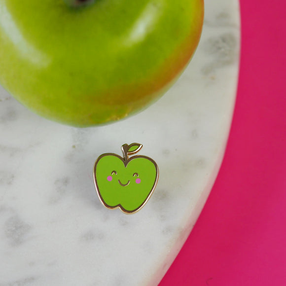 Albert the Apple Pin