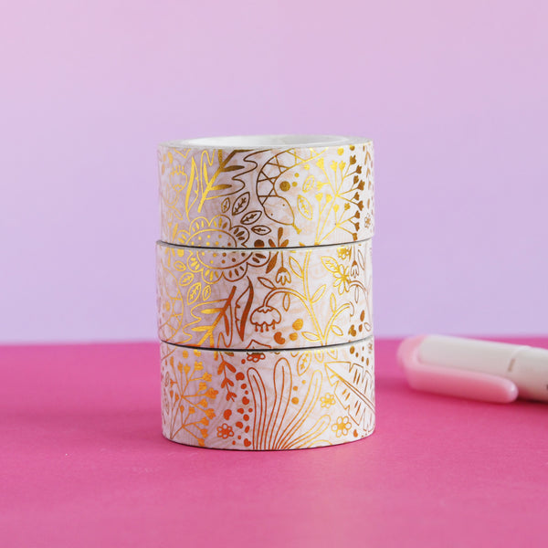 Jungle Washi Tape - Nutmeg and Arlo