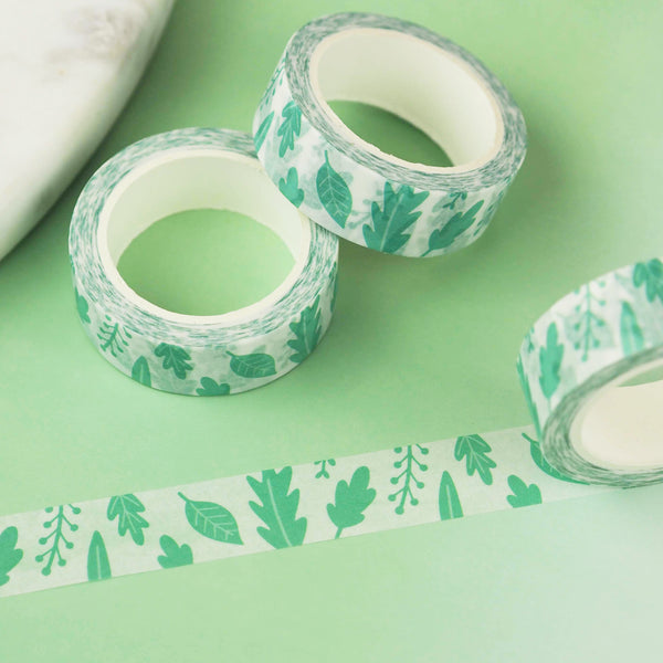 Pretty Leaves Washi Tape - Nutmeg and Arlo