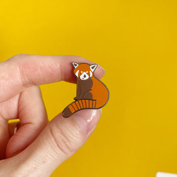 Red Panda Pin - Nutmeg and Arlo