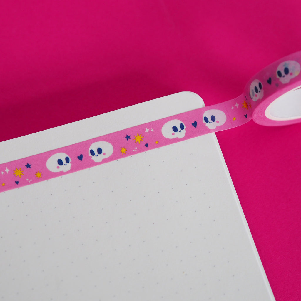 Kissing Skulls Washi Tape - Nutmeg and Arlo