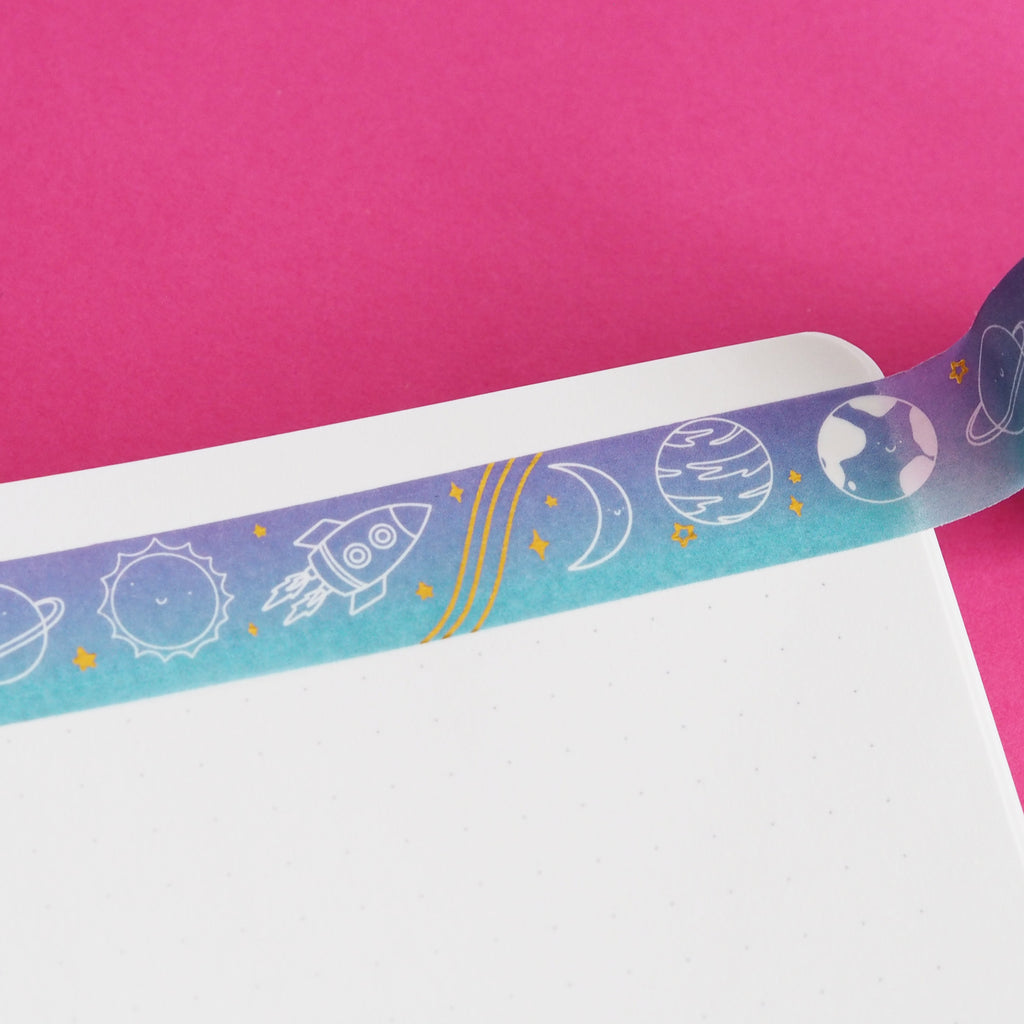 Ombre Space Washi Tape - Nutmeg and Arlo