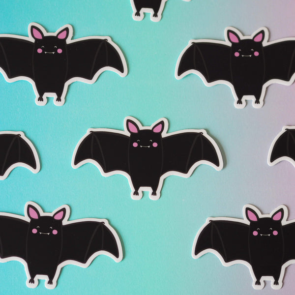 Bat Vinyl Sticker - Nutmeg and Arlo