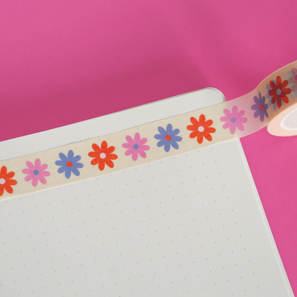 Dainty Flowers Washi Tape - Nutmeg and Arlo