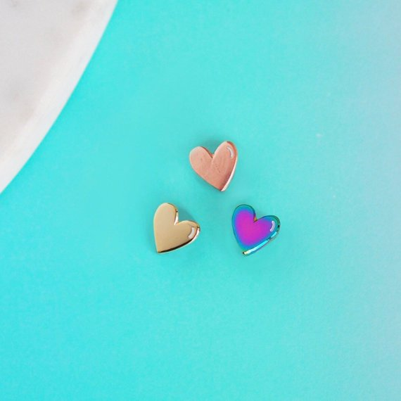 Tiny Heart Pin
