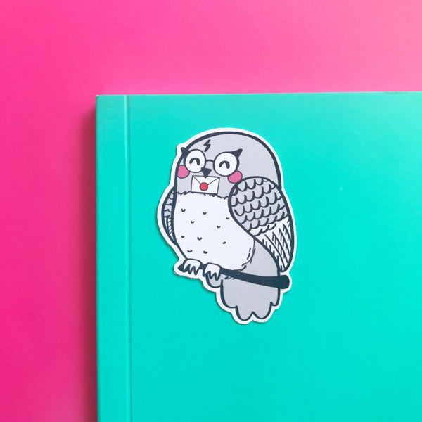 Owl Sticker - Nutmeg and Arlo