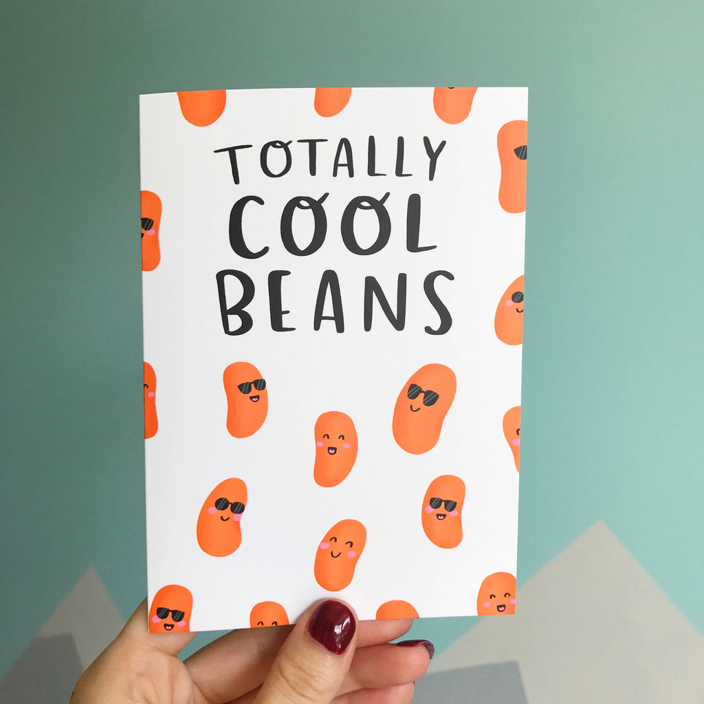 Cool Beans Card - Nutmeg and Arlo