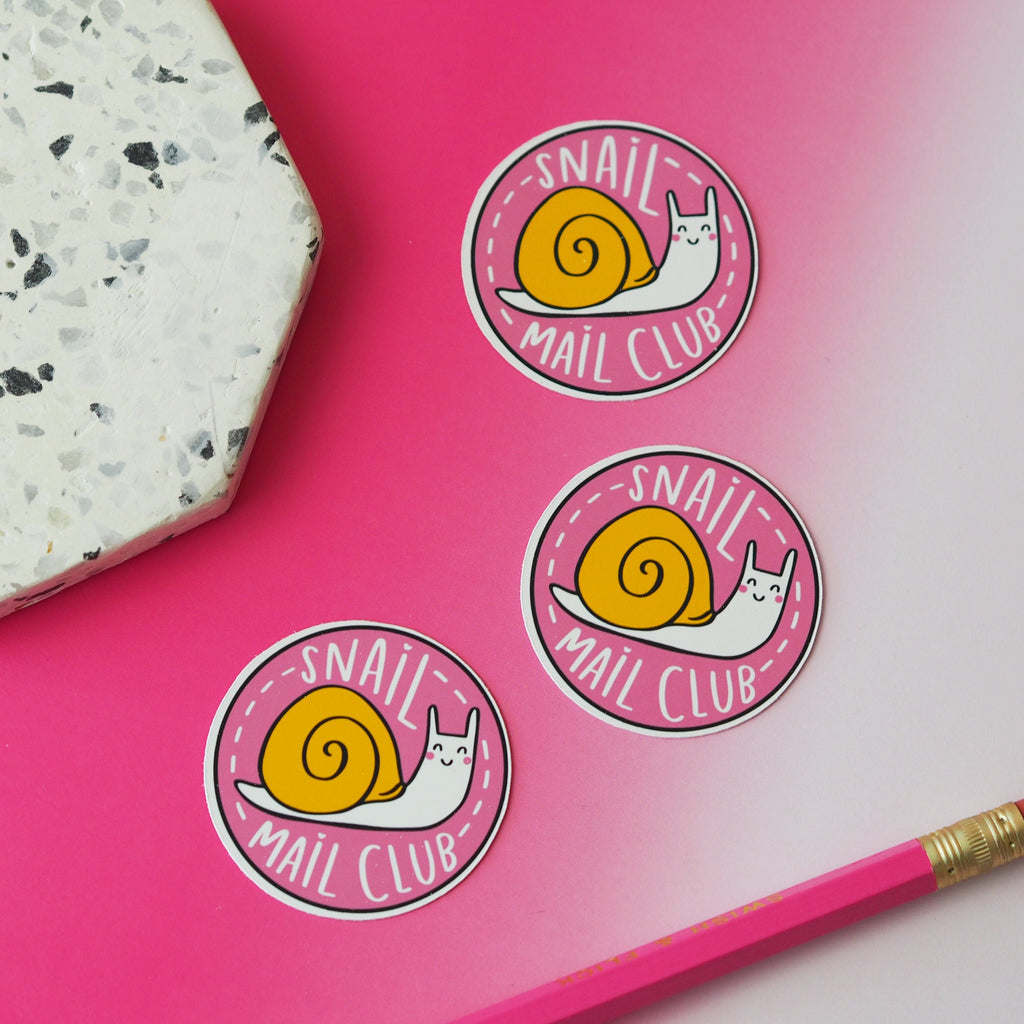 Snail Mail Club Sticker - Nutmeg and Arlo