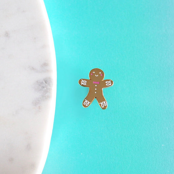 Happy Gingerbread Pin