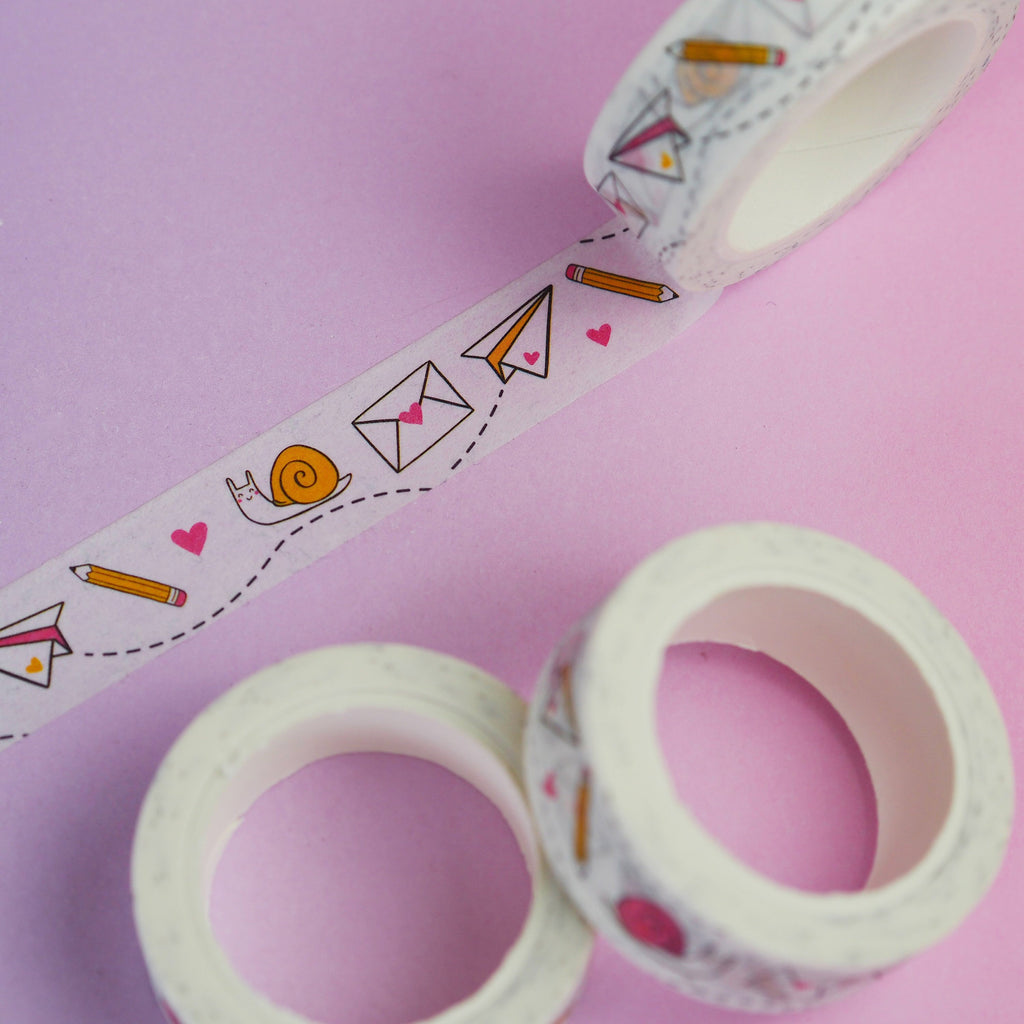 Snail Mail Washi Tape - Nutmeg and Arlo