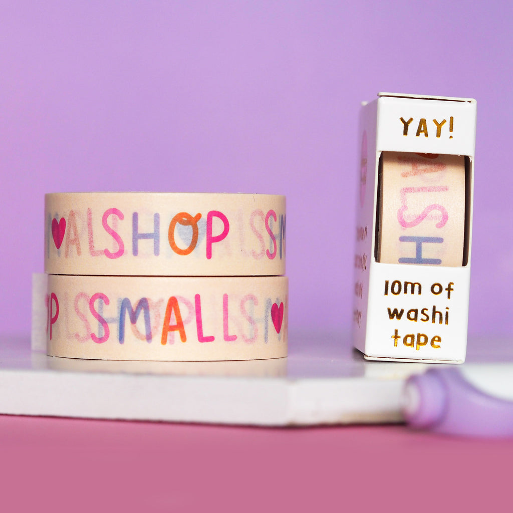 Shop Small Washi Tape - Nutmeg and Arlo