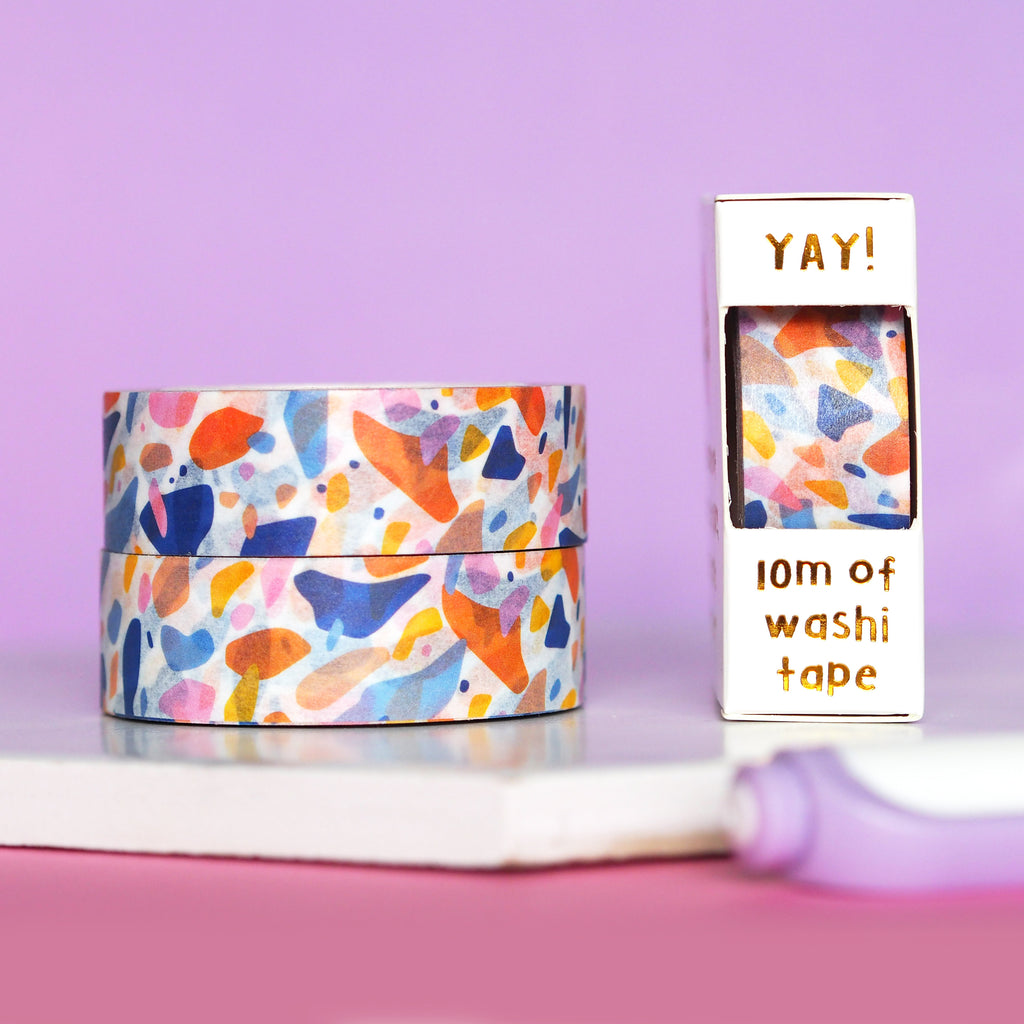 Terrazzo Washi Tape - Nutmeg and Arlo