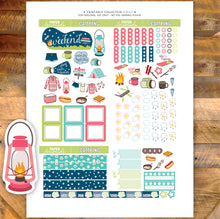 Hobonichi Camping Printable Stickers weekly kit