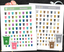 Printable Stickers Recycling