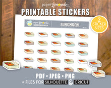 Lunchbox Printable Stickers