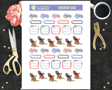 Printable Stickers Service Dog