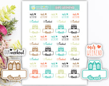 Our Weekend Printable Stickers