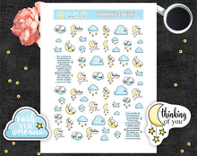 Bereavement Thinking of You Stickers