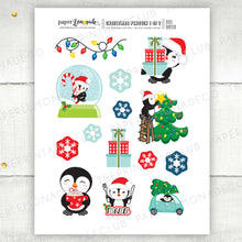 Printable Christmas Penguin Die Cuts 1
