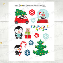 Printable Christmas Penguin Die Cuts 2