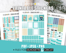 Winter Printable Stickers January Week 1
