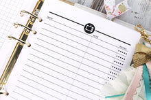 TV Show Planner Insert Half Letter TV show tracker insert Tv tracker Half Letter TV Show Half Letter Size Fits A5 filofax and kikki k large