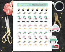 Car maintenance Printable Stickers Washing Car PR-028
