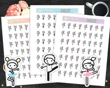 Ballet Printable Stickers Ballet dancer stickers Ballet girl and Boy PR-135