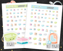 Laundry Printable Stickers