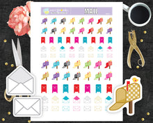 Mailboxes and envelopes Printable Stickers letter