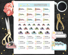 Printable Stickers Babysitting planner stickers PR-223
