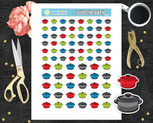 Printable Stickers Dutch Oven Stickers Meal Planning printable stickers PR-050