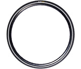 ZOL URBAN HYBRID REFLECTIVE CITY WIRE BIKE BICYCLE TIRE 700X38C 29ER BLACK - Zol Cycling