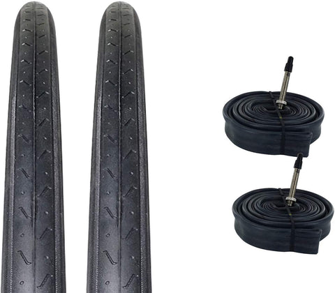 ZOL Bundle Pack Z1179 Road Tires and Tube 700x23C, Presta/French 60 MM Valve - Zol Cycling