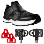 Zol Salon Indoor Cycling Shoes with Pedals and Cleats - Zol Cycling