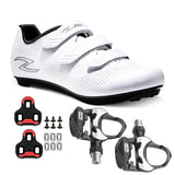 Zol Fondo Road Cycling Shoes With Wellgo Pedals and Keo Cleats - Zol Cycling