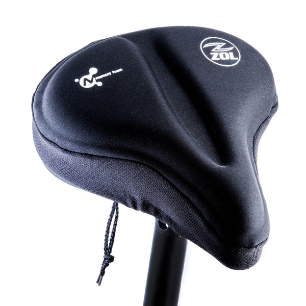 Zol Anti Slip Bike Saddle Cover with Memory Foam Compatible with Peloton bike